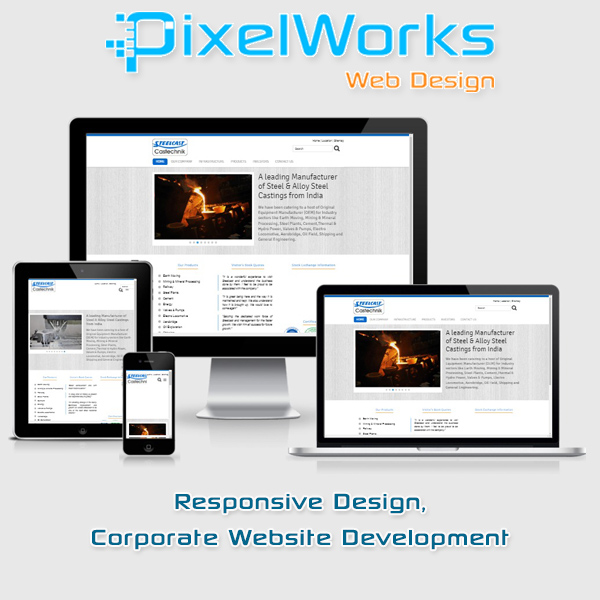 Corporate Website Development,Responsive & Mobile Friendly